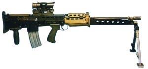 5,56-мм ручной пулемет L86A1