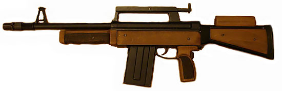 РБ-12 с деревянной щекой