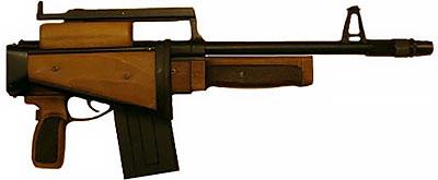 РБ-12 со сложенным прикладом