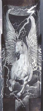 «Крылатый конь» Манрико Торколи