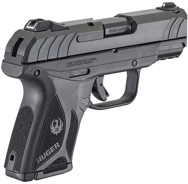 Пистолет Ruger Security-9 оснащён скрытым курком