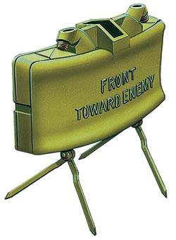 Противопехотная осколочная мина направленного поражения М18А1 «Клэймор» (США)
