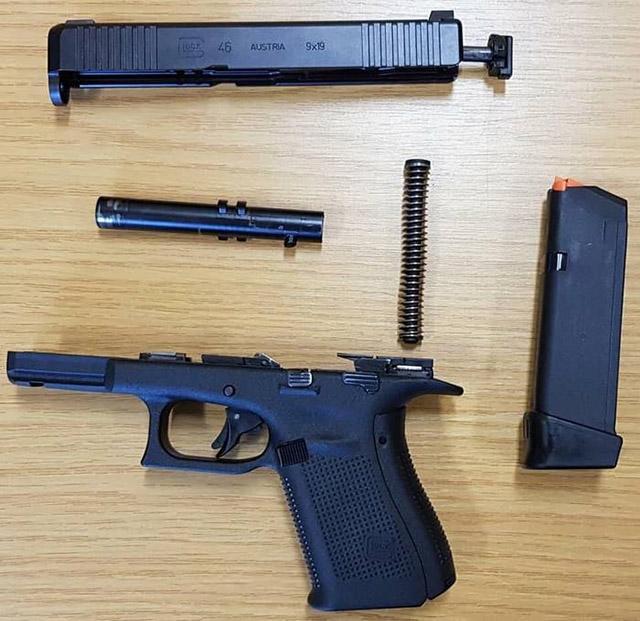 Неполная разборка Glock 46