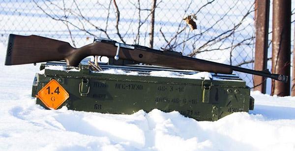 ВПО-220 под патрон 9,6x53 Lancaster