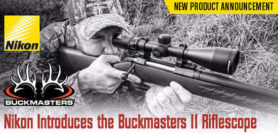 Nikon Buckmasters II Riflescope
