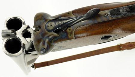 Sauer M30 при перезаряжании