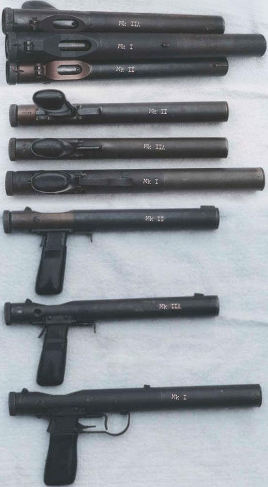 Пистолеты Welrod Mk II, Welrod Mk IIA и Welrod Mk I