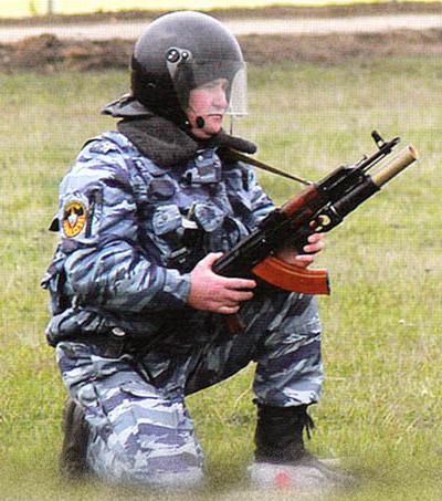 Стрельба гранатой АСЗ-40 «Свирель» из подствольного гранатомета