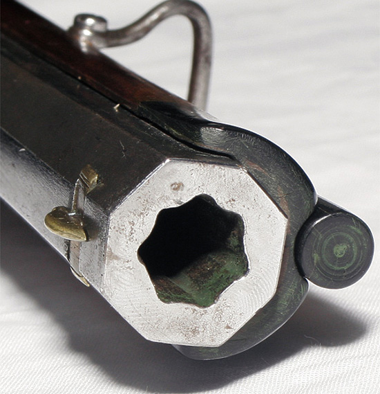 Семь глубоких нарезов оптимальны для использования безоболочечной свинцовой пули.