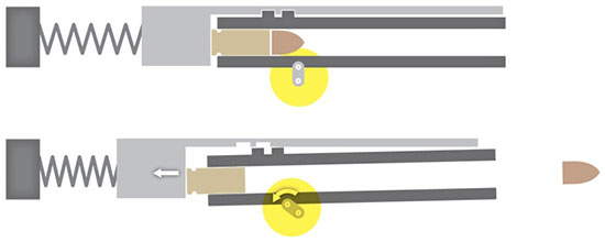 Схема Браунинга с серьгой