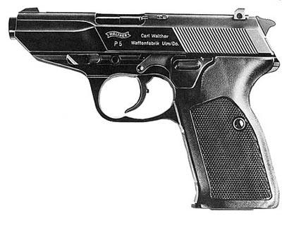 9-мм пистолет «Вальтер» Р.5