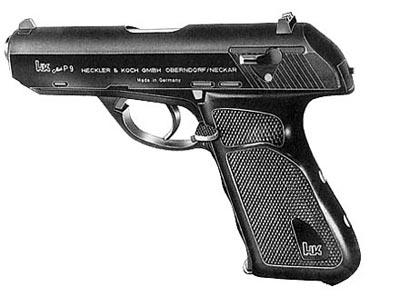 9-мм пистолет Hеckler und Koch P.9
