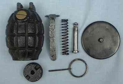 Mills Bomb № 36