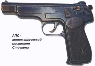 АПС - автоматический пистолет Стечкина