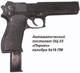пистолет ОЦ-23 Пернач