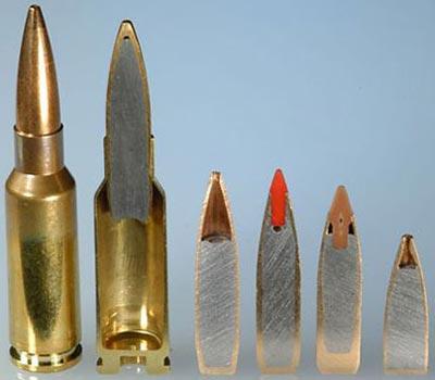 6.5x38 Grendel с пулями массой от 9.3 до 5.8 грамм