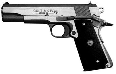 Пистолет Кольт М 1911А1 Mk IV, Series 80