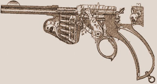 схема пистолета Лаумана