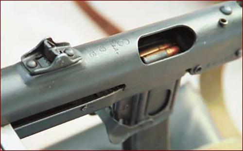Перед началом стрельбы затвор ПП находится в заднем положении и удерживается шепталом