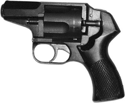 12,3х40R крупнокалиберный револьвер «Удар» «Т-93», разработанный в КБП