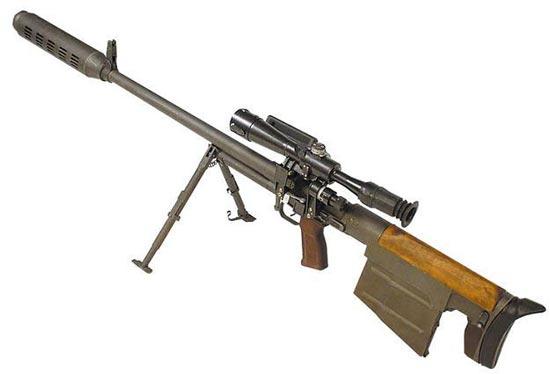Снайперская винтовка КСВК / АСВК