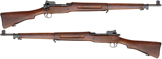 United States Rifle, cal .30, Model of 1917