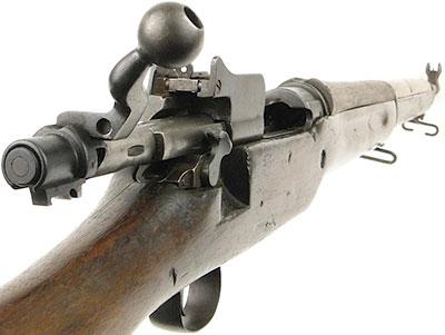 Вид на элементы управления US Rifle M1917