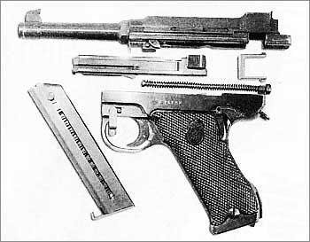 9-мм самозарядный пистолет «Лахти»
