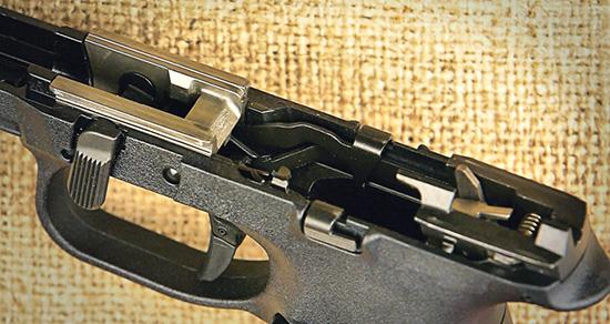Рамка FNS-9 оборудована сменными направляющими