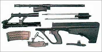 Армейская универсальная винтовка Штейер AUG 77