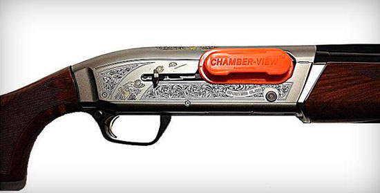 Chamber-View Shotgun Safety Device