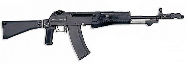 Автомат АН-94. Это оружие так и не стало массовым в Российской армии