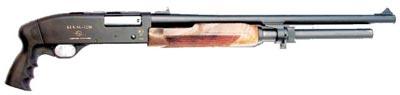 Бекас 12М с коротким стволом и пистолетной рукояткой