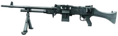 Английский единый пулемет L7A2 в качестве ручного пулемета