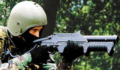 ГМ-94 при стрельбе