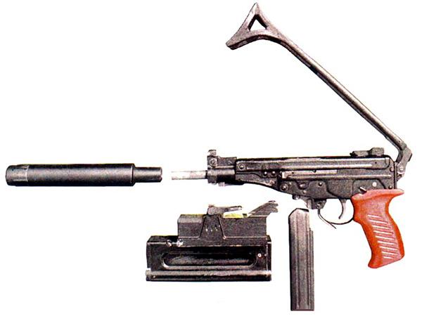 Неполная разборка пистолета-пулемета ОЦ-02 «Кипарис»