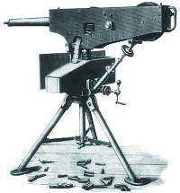 11,43-мм станковый пулемет «Максим». Первый образец модели 1883 года