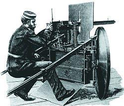 Станковый пулемет «Максим» модели 1887 года (из наставления для швейцарской армии)