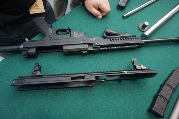 Карабин «Kurbatov Arms» R-701 в разобранном виде