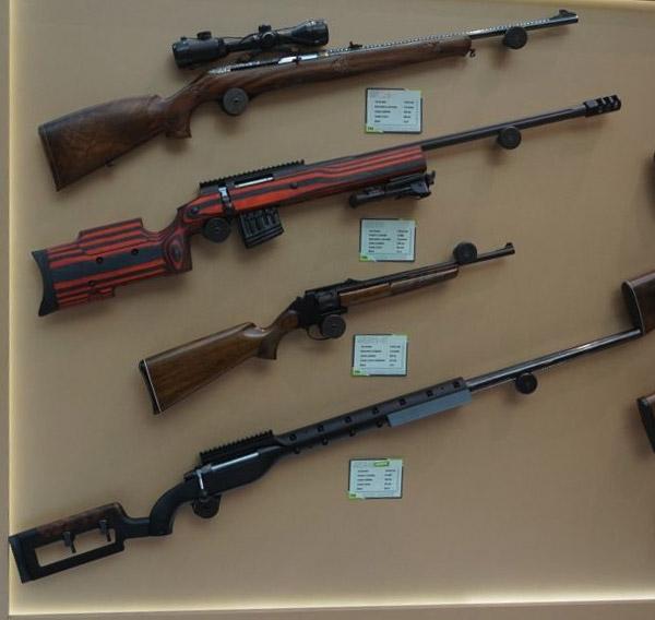 Высокоточная винтовка МЦ-561 была создана на базе боевой снайперской винтовки МЦ-116М