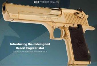 пистолет Desert Eagle калибра .50 AE