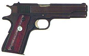 .45 пистолет Кольт М 1911А1