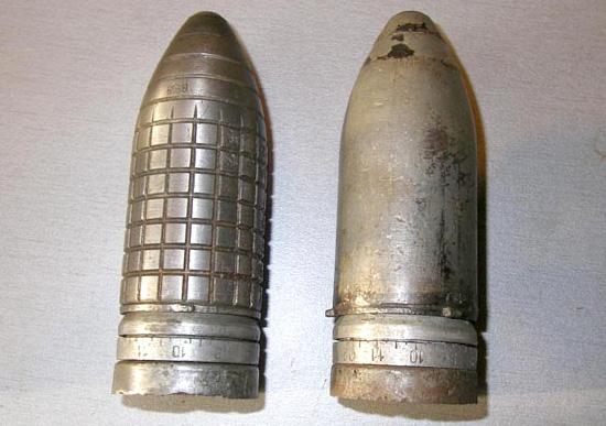 Осколочные ружейные гранаты к гранатомету Дьяконова