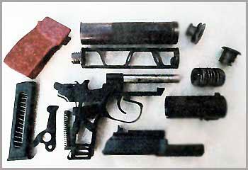 Пистолет для бесшумной и беспламенной стрельбы 6П9 ПБ
