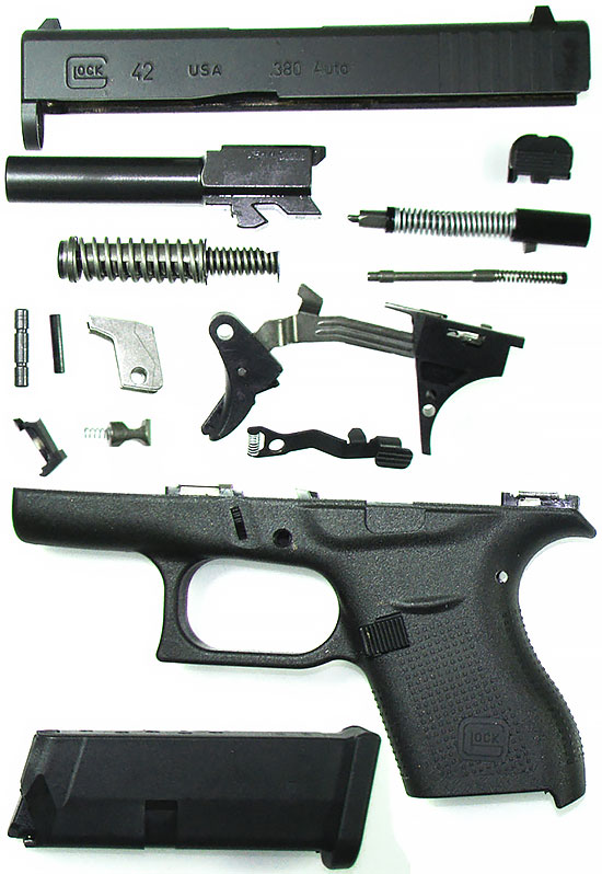 Основные элементы Glock 42