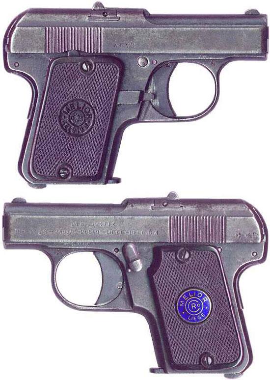 Melior New Model калибра 6.35 мм (образца 1925 года)
