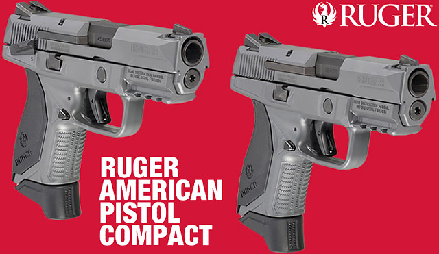 Ruger American Pistol Compact Gray Cerakote