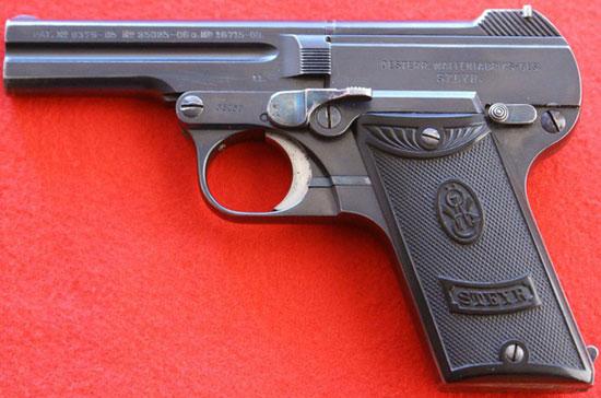 Steyr-Pieper M1908 выпуска до Первой Мировой войны