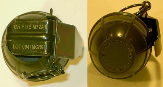 M72 / PRB Nr 423 (вид сверху и снизу)
