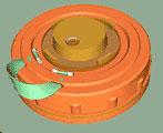 ТМ-62М <p>ТМ-62М</p>  <p>Основная базовая модель. Корпус металлический. Ручка для переноски тканевая съемная. В основном предназначена для минирования с использованием прицепных или самоходных гусеничных раскладчиков (заградителей), вертолетных систем минирования, а также в тех случаях, когда вероятно возникновение необходимости поиска и снятия мин своими войсками. Может также использоваться и для минирования вручную. Может устанавливаться как на поверхность земли, так и в грунт, снег, воду. Хорошо обнаруживается всеми типами металлодетекторов (миноискателей), щупами, поисковыми собаками.</p> <img alt=